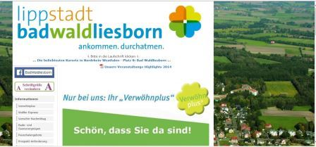 Touristik und Marketing Lippstadt - Bad Waldliesborn